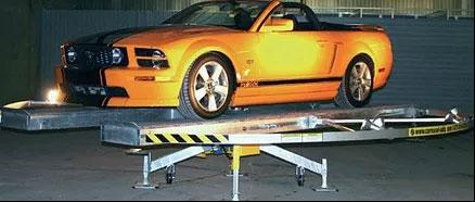 podium car display rotating platform